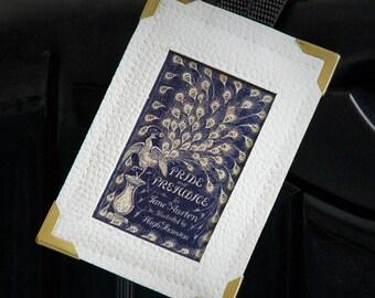 Luggage Tag Jane Austen PRIDE & PREJUDICE