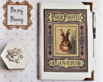 RABBIT Travel Organizer Four footed Lovers