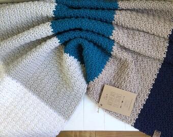 """READY TO SHIP - Little Ombré Merino Blanket - 31""""x28"""" - Naturally Soft Merino   Wool Blanket   Baby Blanket   Baby Stroller Blanket"""