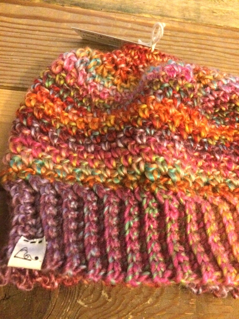 f1d18f35a79 Messy Bun Beanie   TODDLER to ADULT   Wool Blend   Ponytail