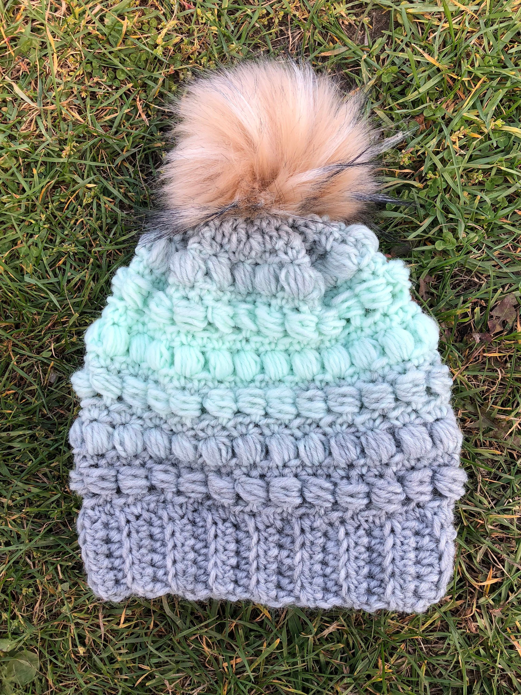 e0bf0d51 The Fairywren Beanie// Adult hat// Mens hat// Womens Hat// Wool Beanie//  Crochet Toque// Bead stitch hat// puff stitch hat//