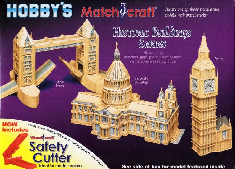 Brand New Craft Kit BIG BEN Matchstick Model Kit