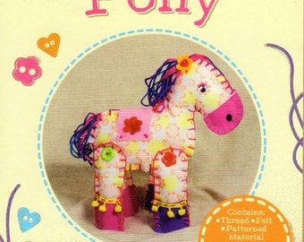 Make Your Own Pony, SOFT TOY Craft KIT, Brand New For Age 6 plus