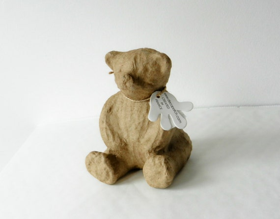 9cm Paper Mache Elephant for Decopatch Crafts