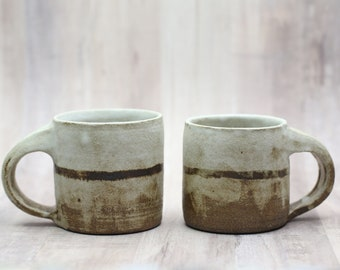 Espresso Mug - Ready to Ship -  Ceramic Handmade Wheelthrown Pottery Cup