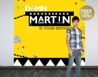 Tv Show Personalized Photo Backdrop | 90's Photo Backdrop | 80's Photo Backdrop | Custom Backdrop | Birthday Backdrop | Party Backdrop
