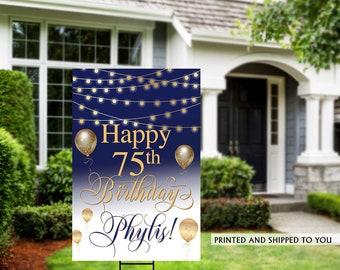 Birthday Yard Sign | Quarantine Birthday Sign | Birthday Yard Sign | 70th Birthday Signs | 50th Birthday Yard Sign, Happy Birthday Lawn Sign