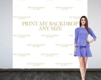 Print My Backdrop - Printing Service - Backdrop Printing Service - Vinyl Backdrops Printed - Print My Backdrop File - Print Service
