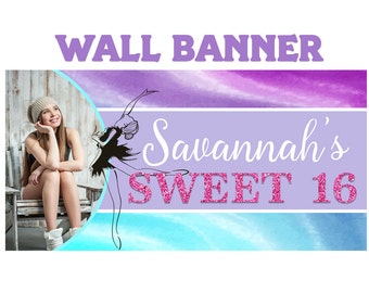 Sweet 16th Banners