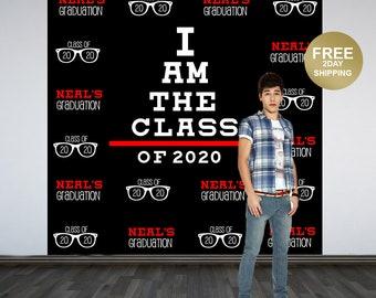 Graduation Photo Backdrop | 2020 Vision Photo Backdrop | Class of 2020 Photo Backdrop | Congrats Grad Photo Backdrop | Eyeglasses Backdrop