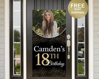 Birthday Door Banner | Birthday Quarantine Banner | 18th Birthday Door Banner | 18th Birthday Door Banner | Birthday Yard Banner