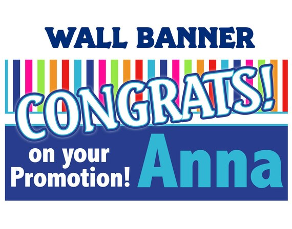 congrats banner personalized party banners congratulations etsy