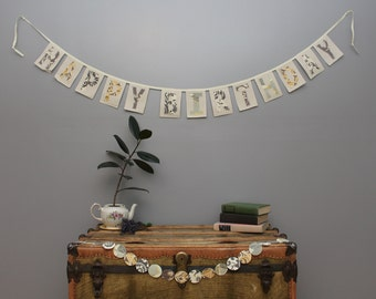 Happy Birthday Banner Greys/\Yellow, Birthday Celebration, READY TO SHIP