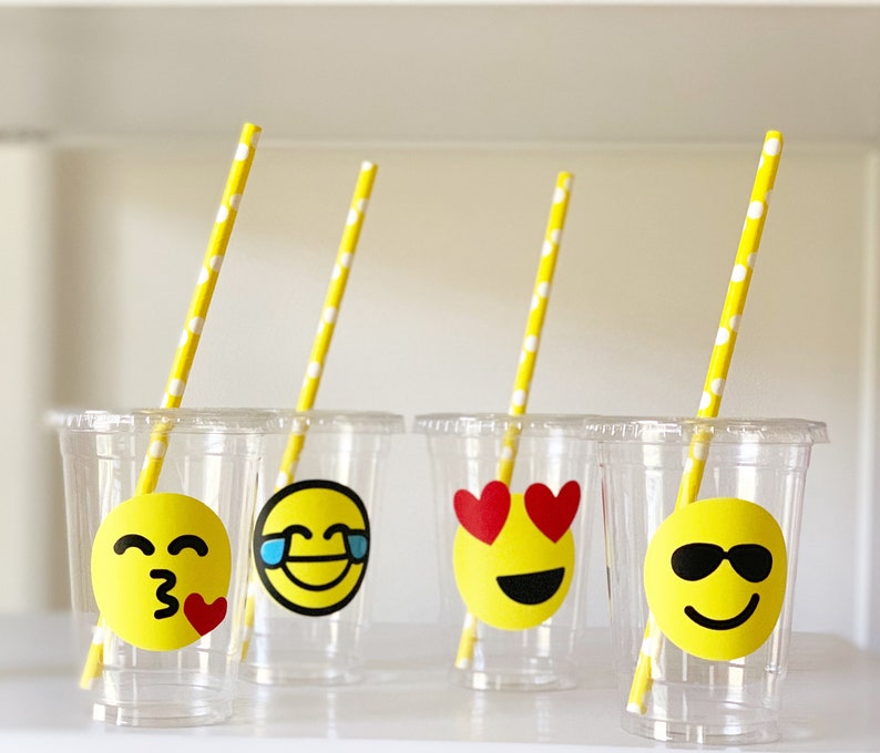 Emoji Party Supplies Birthday Decorations And