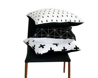 Werfen Sie, Kissen, geometrische Muster einseitig, Kissenbezug, skandinavisches Design, nordischen Stil, Wohnzimmer Dekor, Housewarminggeschenk