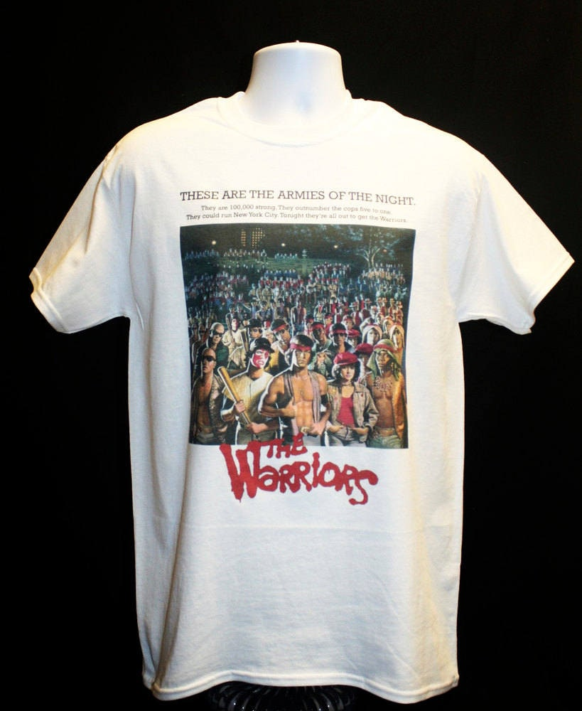 The Warriors Movie Poster T-shirt Film Cult 70s 1970s