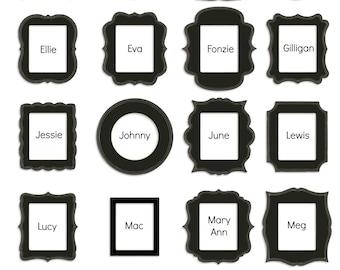 4x6 Frames - Set of 3