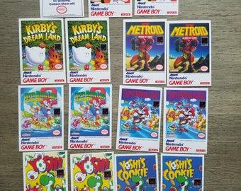 Amurol Gameboy Card Set Old Fun Nintendo Card Set