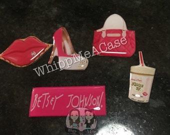 Pink designer set