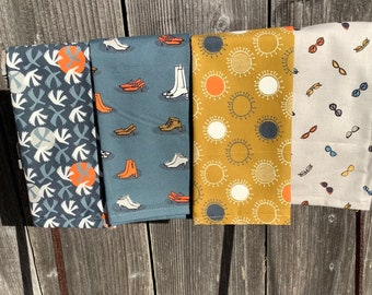 Stepping Out Organic Napkins (Set of 4)