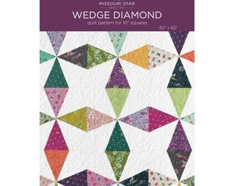 Wedge Diamond Pattern by Missouri Star