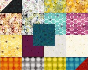 "Pollinator 2 1/2"" Strips by Leslie Tucker Jenison from RJR Fabrics"