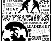 Wrestling Locker Sign - P...