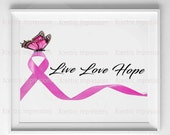 Breast cancer awareness digital print, cancer ribbon digital print, breast cancer digital print, breast cancer, print, digital print, prints