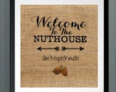 Welcome to the nuthouse, ...