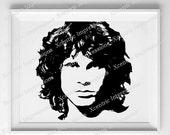 Jim Morrison Print, the Doors Digital Print gift, Custom digital print,  Jim Morrison gift, Doors fan digital print, the doors gift