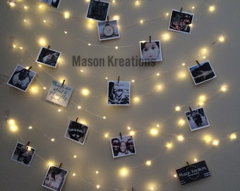 hanging light photo display fairy lights battery dorm decor fairy light dorm hanging fairy light fairy lights bedroom - Fairy Lights Bedroom