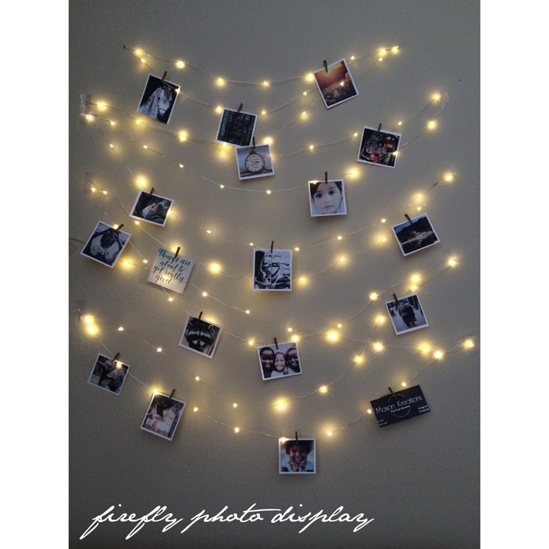 Hanging light Photo display Fairy Lights Photo Display image 0