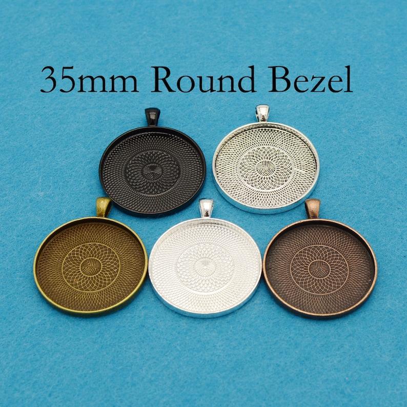 25*50mm Rectangle Bezel Setting Pendant base Trays pendant blank Suppliers 20PCS