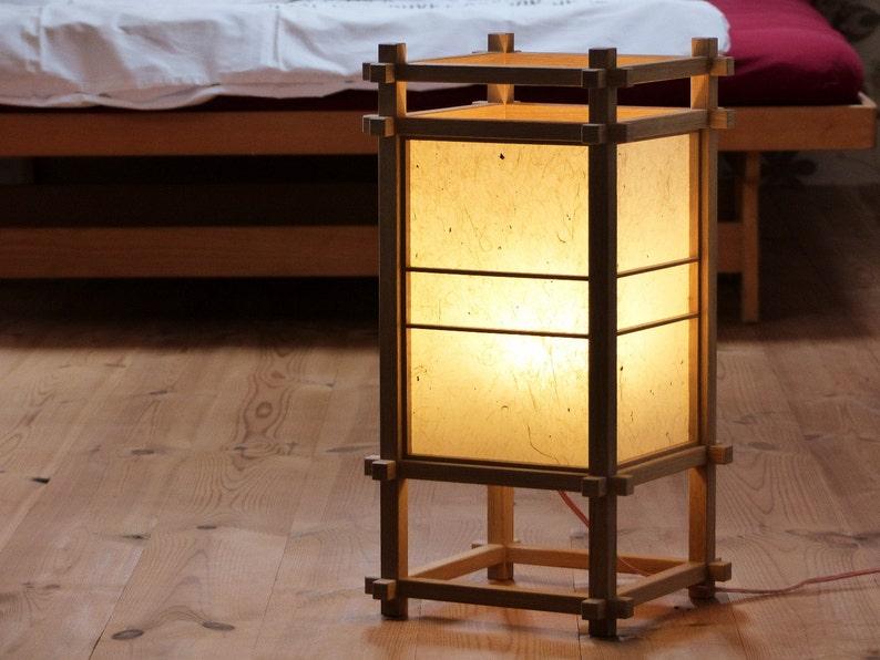 Japanese Shoji Lamp Lantern Etsy