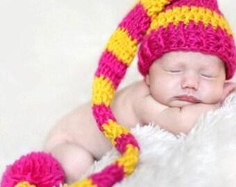 Crochet Hat Photo Prop Outfit