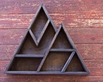 Large Mountain Geometric Shelf