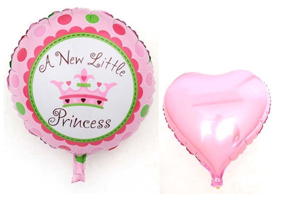 Balloon Mylar to heart christening Diameter 45 cm Made in Italy
