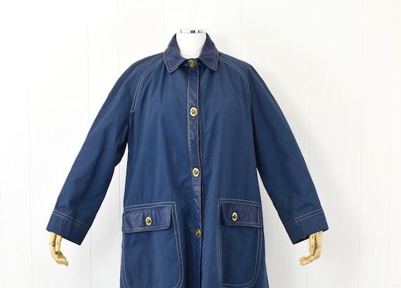 1960's Sills by Bonnie Cashin Blue Coat - image 2