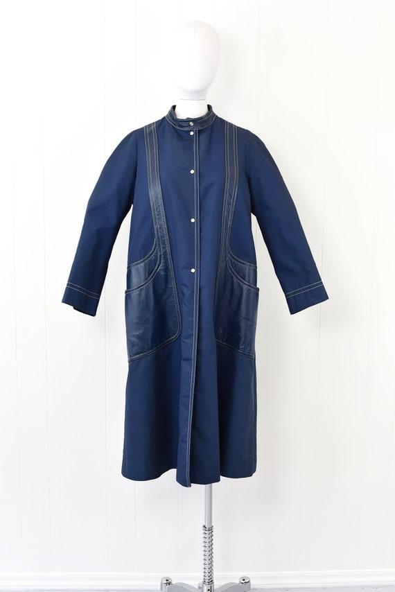 1960s Sills by Bonnie Cashin Blue Coat - image 2