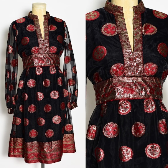 1960's Malcolm Starr Party Dress