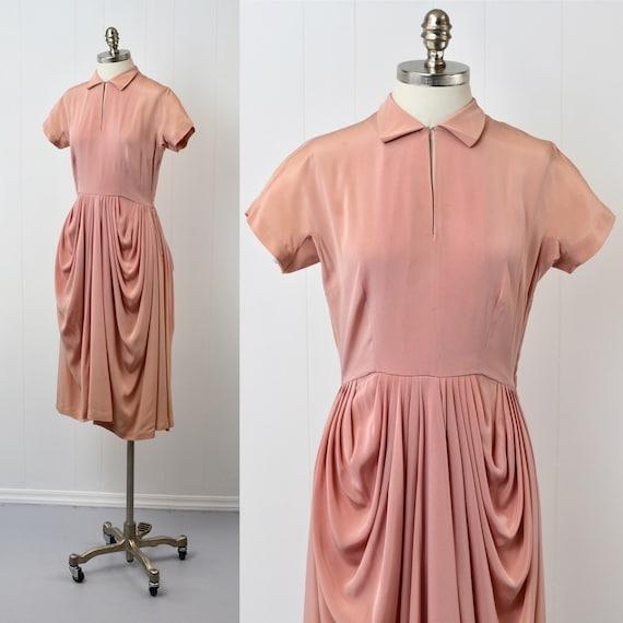 1940s Pink Ceil Chapman Dress - image 2