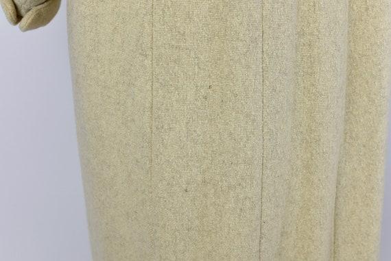1940's Oatmeal Wool Coat - image 7