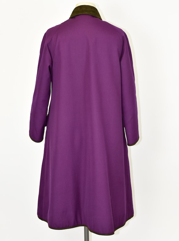 1960's Sills by Bonnie Cashin Purple Coat - image 7
