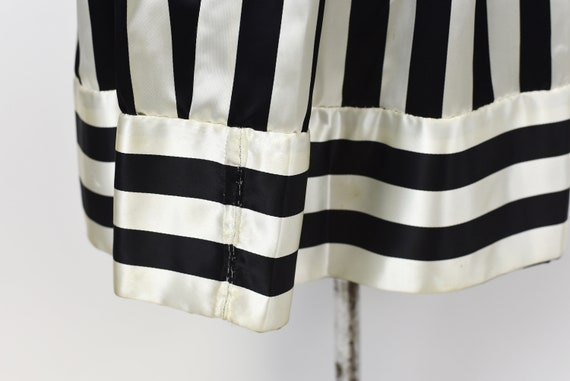 1970s Victor Costa Striped Dress Gown - image 9