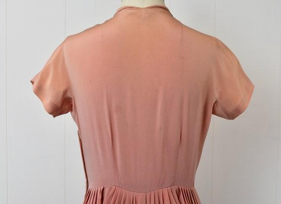 1940s Pink Ceil Chapman Dress - image 6