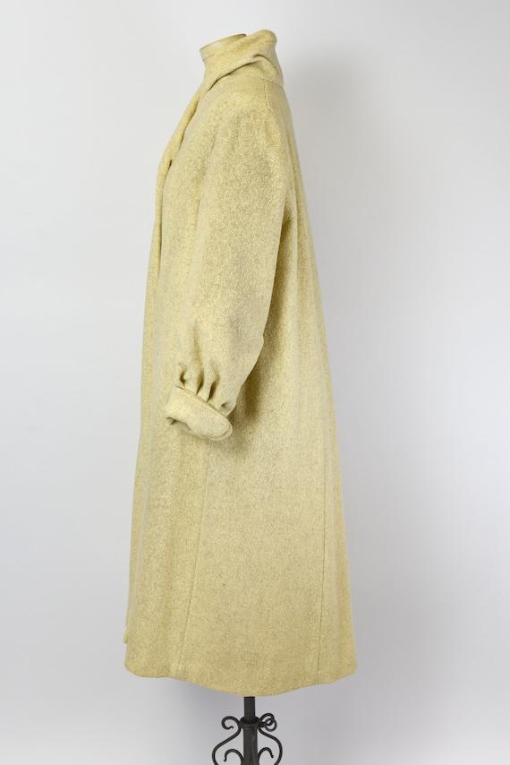 1940's Oatmeal Wool Coat - image 4