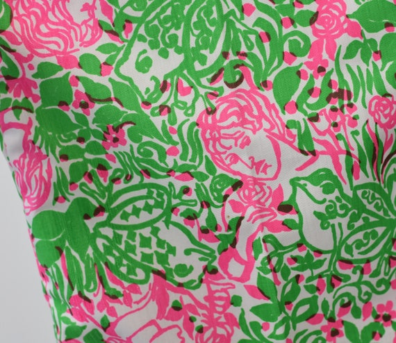 RARE 1970s Lilly Pulitzer Frog Prince Novelty Pri… - image 10