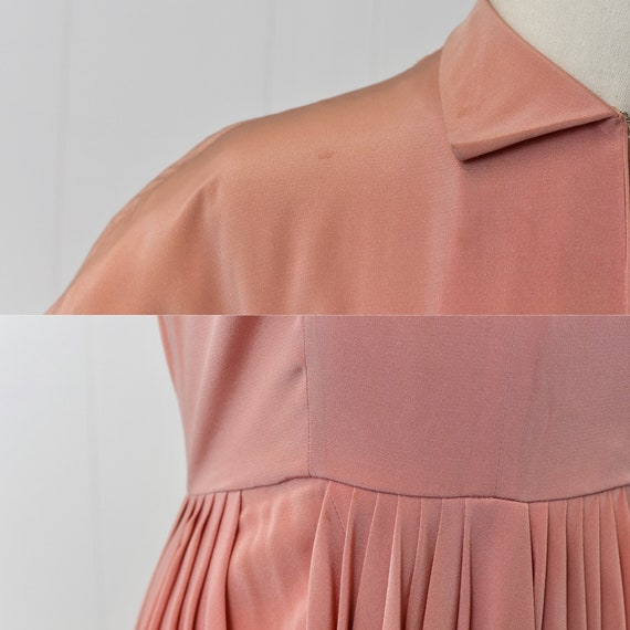 1940s Pink Ceil Chapman Dress - image 7