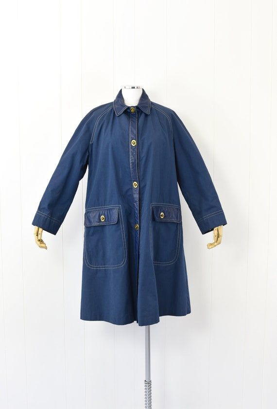 1960's Sills by Bonnie Cashin Blue Coat