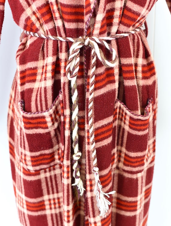 1940s Beacon Plaid Robe/Overcoat - image 10